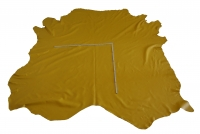 Rindlederhaut 5,43 m², gelb, 1,6-1,7 mm (WT 068) Polsterleder