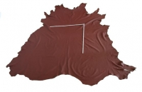Rindlederhaut 5,58 m², kastanienbraun, 1,9 mm (BR 012) Polsterleder