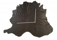 Rindlederhaut 5,04 m², dunkelbraun, 1,0-1,1 mm (BR 254) Polsterleder