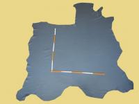 Rindlederhaut 4,92 m², dark blue, 1,3 mm (BL 038) Polsterleder