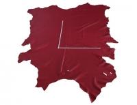 Rindlederhaut 5,89 m², Rubinrot, 1,8-1,9 mm (RO 006) Polsterleder