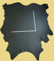 Rindlederhaut 5,13 m², mittel-grau 2,0-2,2 mm, Polsterleder (GR 095)
