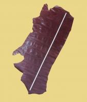 Rindleder, Täschnerleder, violett, kopfgedeckt, 1,49 m², 1,4-1,6 mm (RO 133)