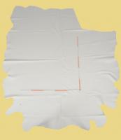 Rindleder 4,24-5,83 m², Champagner-Weiß, 1,3-1,5 mm  Polsterleder