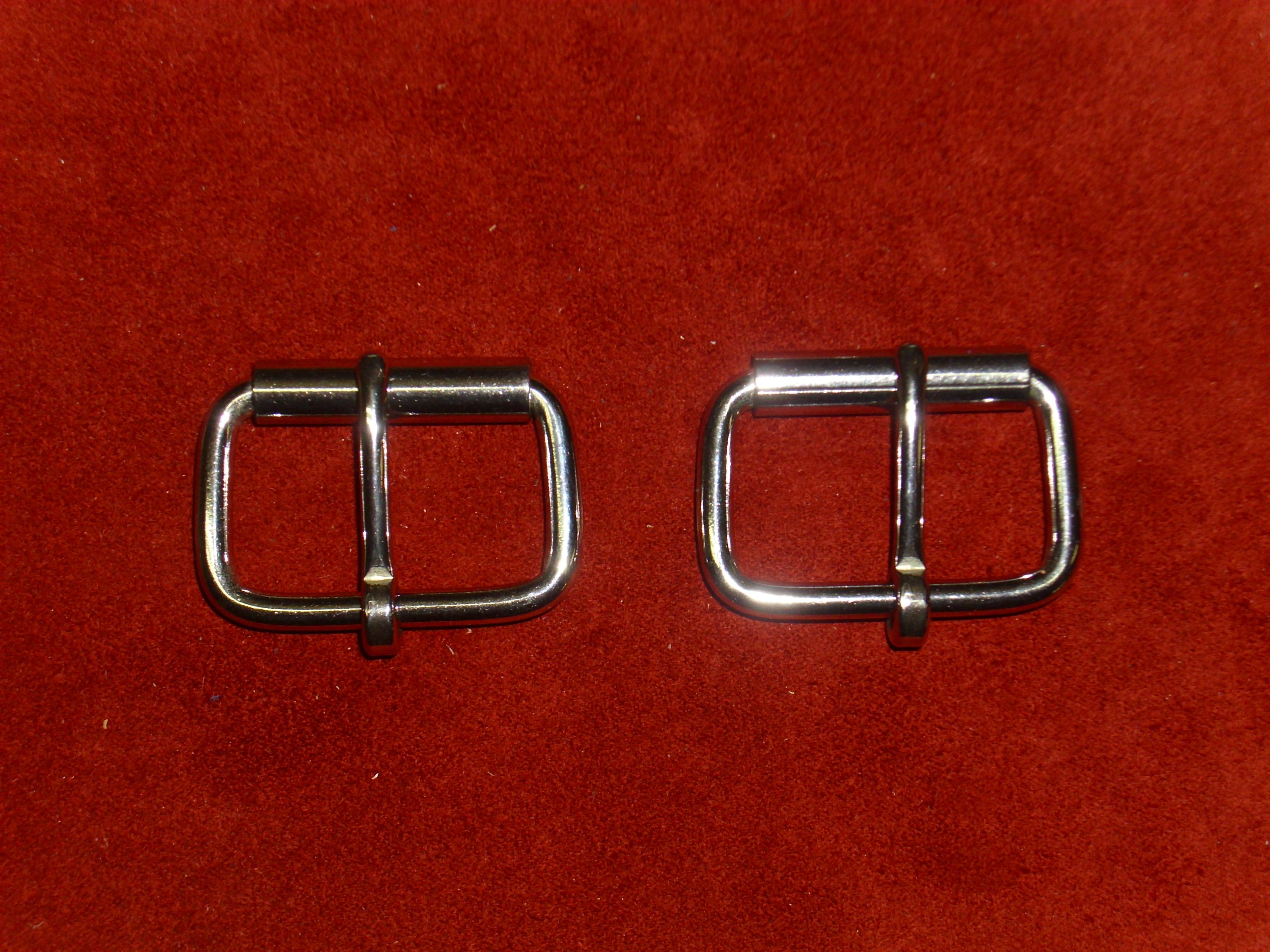 UK-Shop angemessener Preis hübsch und bunt Gürtelschnalle, 50 mm, massiv Edelstahl, Rollschnalle, Gürtelschließe