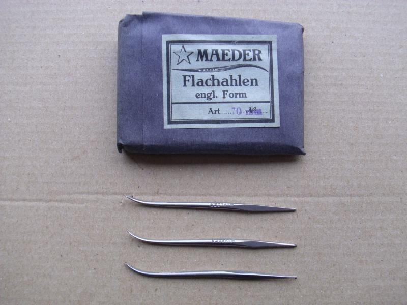 Flachahle englische Form, 70 mm, Schuhmacherahle