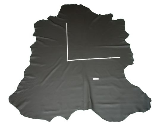 Rindlederhaut 4,89 m², dunkelgrau 1,8-1,9 mm, Polsterleder (GR 108A)