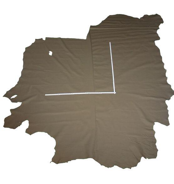 Rindlederhaut 5,27 m², mittelbraun, 1,1-1,2 mm (BR 092)