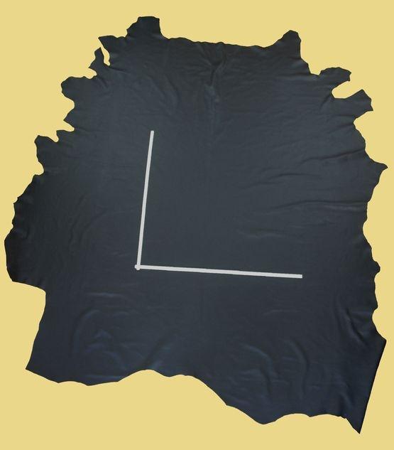 Hellerleder, Rindleder, 12,24 m², schwarz 1,4-1,5 mm, Polsterleder (S 079/ 080)