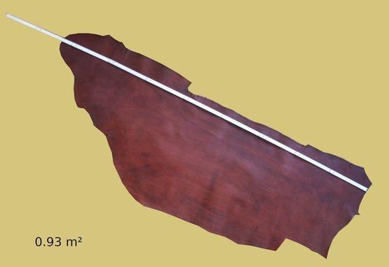 Rindlederhälse, braun, 1,4-1,6 mm, Täschnerleder