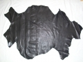 Lamaleder Farbe schwarz, 1mm dick, 0,58 qm