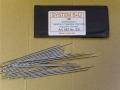 Sattlernadeln, Handnähnadeln, stumpfe Spitze, 70 mm x 1,2 mm