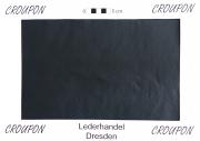 Rindleder, 5,74 m², ganze Haut, vegetabil, 1,1 mm Stärke, dunkelblau, pflanzlich gegerbt