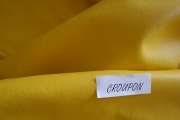 Rindlederhaut 5,28 m², gelb, 1,6-1,7 mm (WT 066) Polsterleder