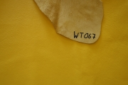 Rindlederhaut 4,86 m², gelb, 1,6-1,7 mm (WT 067) Polsterleder