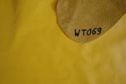 Rindlederhaut 5,63 m², gelb, 1,6-1,7 mm (WT 069) Polsterleder