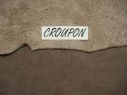 Rindlederhaut 5,18 m², dunkelbraun, 1,5 mm (BR 070) Polsterleder