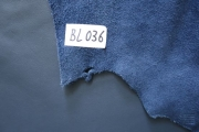 Rindlederhaut 4,63 m², dark blue, 1,3 mm (BL 036) Polsterleder