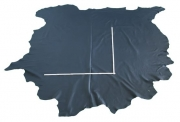 Rindlederhaut 4,73 m², dark blue, 1,3 mm (BL 039) Polsterleder