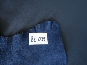 Rindlederhaut 4,73 m², dark blue, 1,3 mm (BL 039) Polsterleder