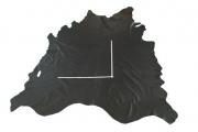 Rindlederhaut 6,28 m², schwarz 1,7 mm, Polsterleder (S 205)
