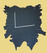 Rindlederhaut 5,80 m², schwarz 1,5-1,6 mm, Polsterleder (S 023)