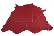 Rindlederhaut 5,22 m², braunrot, 1,6 mm (RO 118) Polsterleder