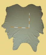 Rindlederhaut 5,58 m², Mendocino-grau 1,3-1,4 mm, Polsterleder (GR 118)