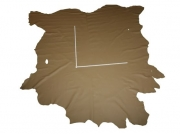 Rindlederhaut 5,64 m², Taupe-Braun, 1,3-1,5 mm (BR 093 A)