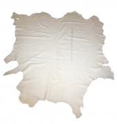 Rindlederhaut 5,79 m², Cremeweiß, 1,7-1,8 mm (HL 085) Polsterleder