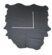 Rindlederhaut 5,30 m², dunkelgrau 1,4-1,5 mm, Polsterleder (GR 056)