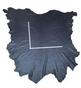 rein aniline Rindlederhaut 5,56 m², Saphir-Blau, 1,6-1,8 mm (BL 026) Polsterleder