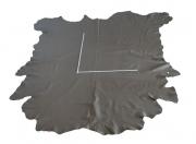 Rindlederhaut grau (Taupe), Polsterleder, 1,8-2,0 mm