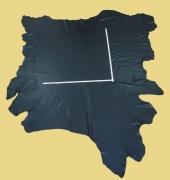 Ganze Rindlederhaut semianilin, schwarz, 1,6-1,8 mm
