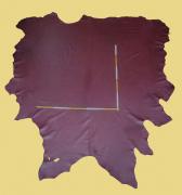 Rindlederhaut 5,40 m², rot, 1,5-1,6 mm (RO 014) Polsterleder