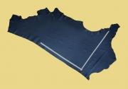 Anschnitt Rindlederhaut anilin, 1,66 m², schwarz 2,4-2,6 mm, Polsterleder (S 156)