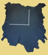 Rindlederhaut 5,64 m², schwarz 1,6-1,7 mm, Polsterleder (S 070)