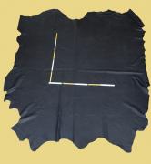 Rindlederhaut 5,79 m², schwarz 1,9-2,0 mm, Polsterleder (S 236)