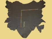 Rindlederhaut 4,63 m², dunkelbraun, 1,3-1,4 mm Polsterleder (BR 134)