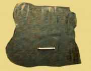 Täschnerleder, schwarz, Vintage-Oberfläche, 0,78 m², weich, zugfest