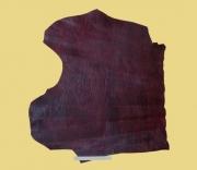Täschnerleder, weinrot changierend, kopfgedeckt, 0,79 m², 1,0-1,1 mm, Rindleder (RO 145)