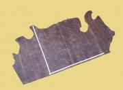 Fettleder, Pull-Up-Leder, Vintage-Leder, 2,10 m², D=1,3-1,4 mm