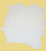 Rindlederhaut 5,96 m², Weiß, 1,5-1,6 mm (WS 021) Polsterleder