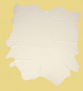Rindlederhaut 5,23 m², Creme-Weiß, 1,5-1,6 mm (WS 081) Polsterleder
