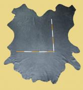 Büffelleder, 4,14-4,75 m², antik-grau 1,2-1,3 mm, Polsterleder (GR 119)