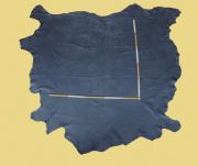 Nubuk-Leder, 2,73-4,42 m², Nightblue, 1,4-1,5 mm (BL 050) Polsterleder