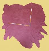 Nubuk-Leder, 4,32 m², rot, 1,4-1,5 mm (RO 166) Polsterleder