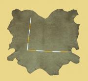 Nubuk-Leder, 3,50 m², antik-grün, 1,4 mm (GN 095) Polsterleder
